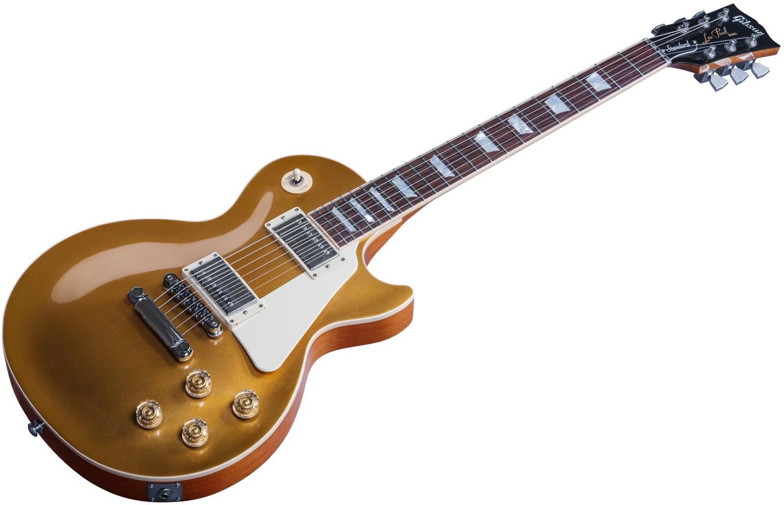 gibson les paul standard 2016 hp gold top keymusic. Black Bedroom Furniture Sets. Home Design Ideas