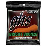 GHS BB30L Light Bright Bronze Acoustic Guitar Strings