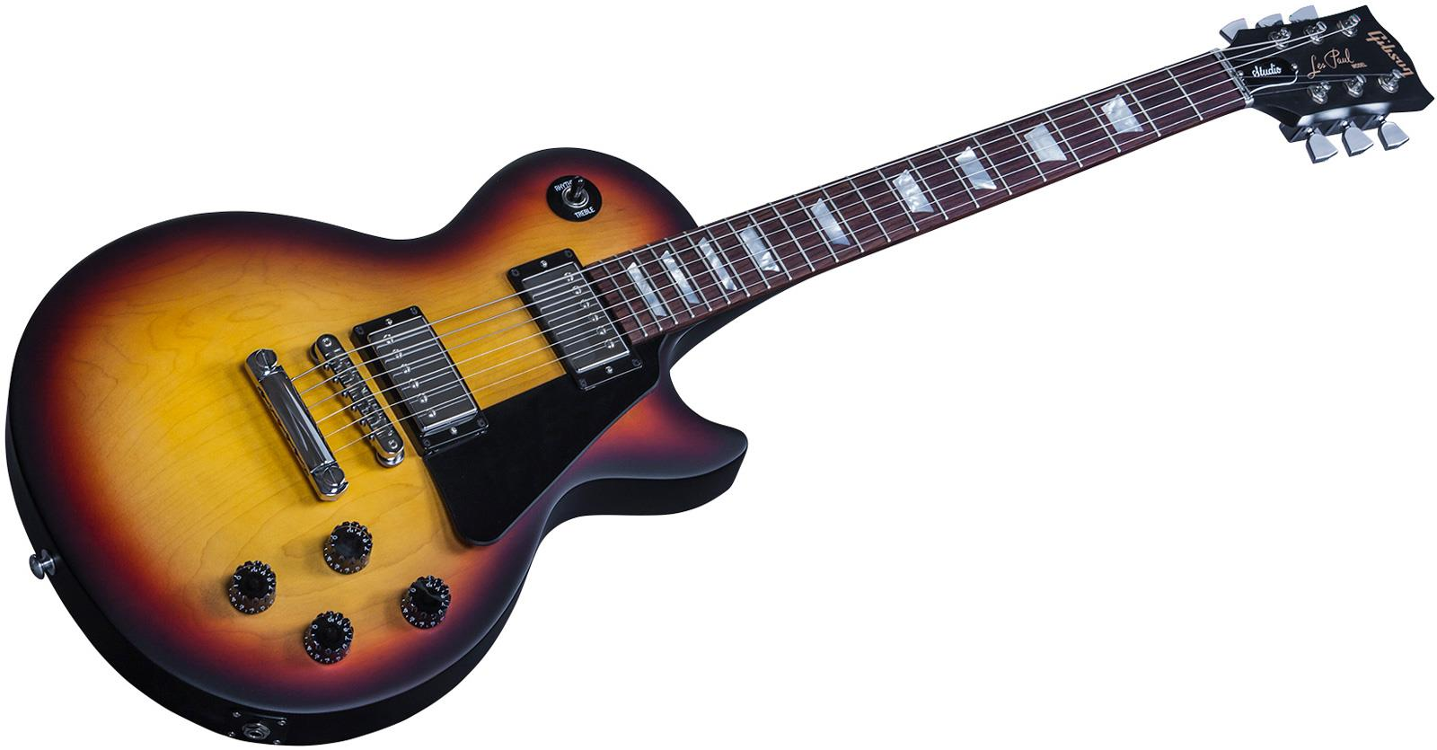 gibson les paul studio faded 2016 hp satin fireburst keymusic. Black Bedroom Furniture Sets. Home Design Ideas