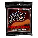 GHS S325 Light Phosphor Bronze Acoustic Guitar Strings