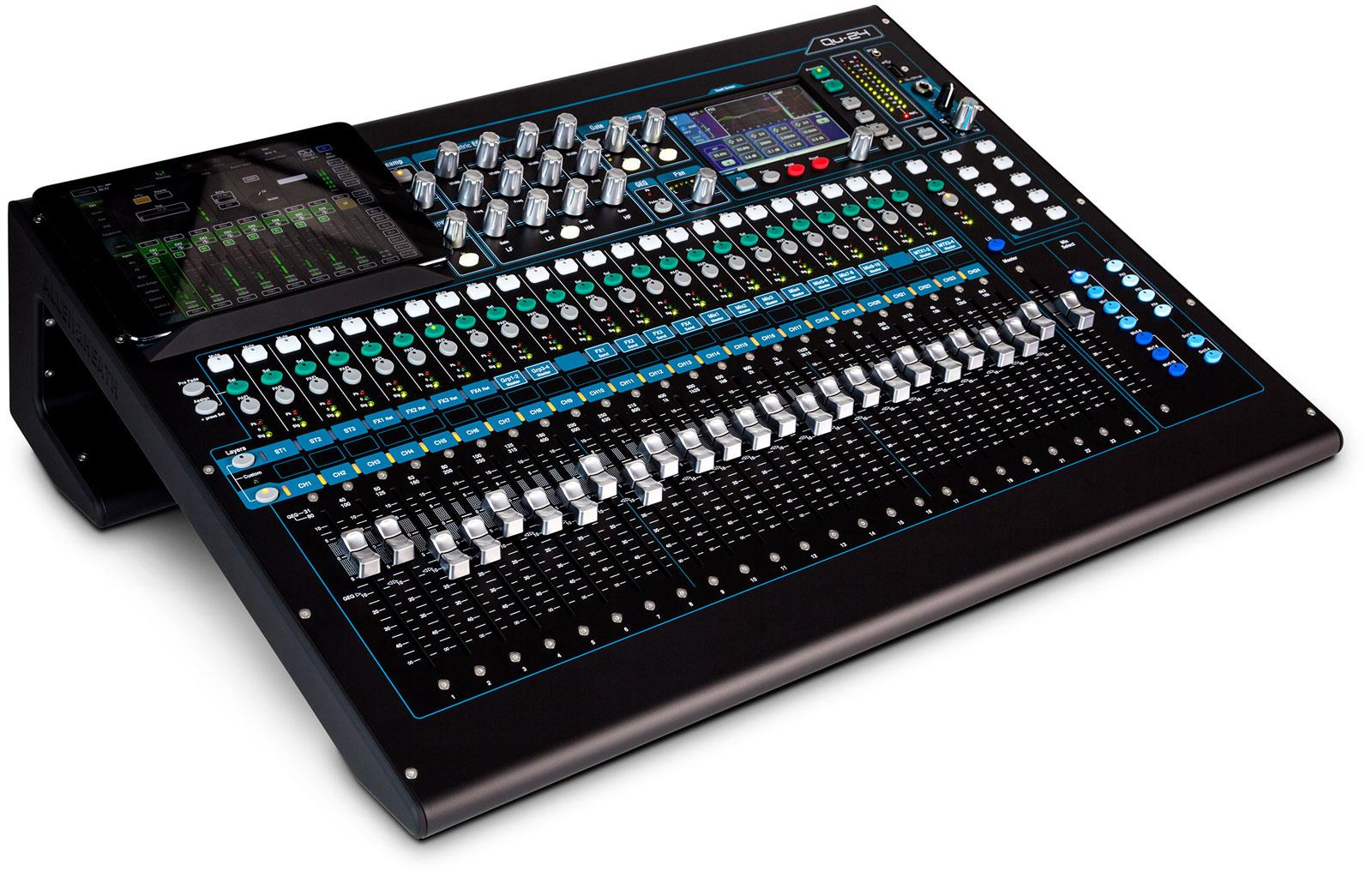 allen heath qu 24 digital mixer keymusic. Black Bedroom Furniture Sets. Home Design Ideas