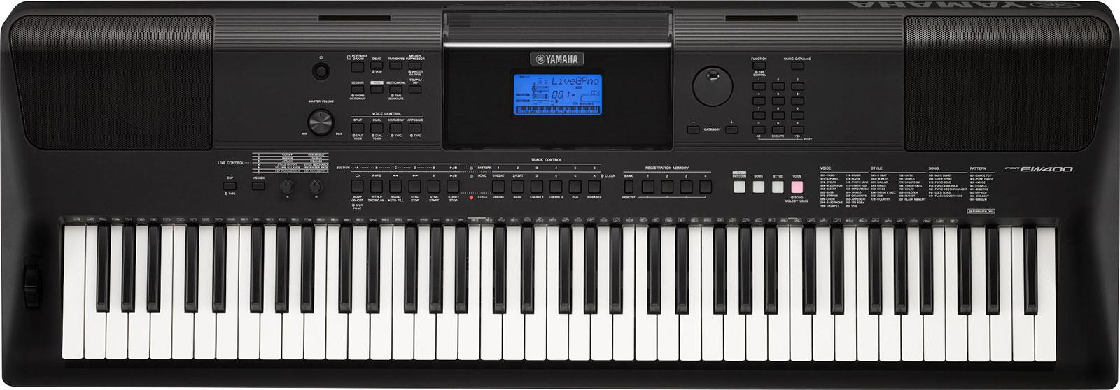 Yamaha psr ew400 keymusic for Yamaha psr ew