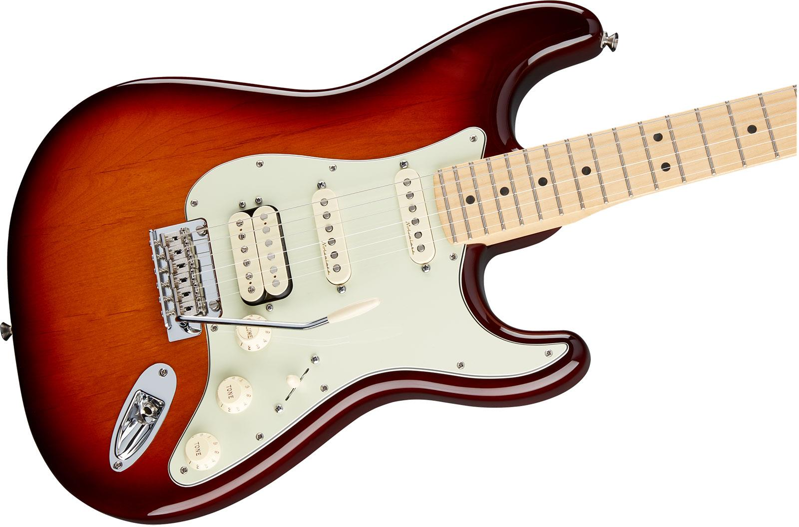 fender deluxe stratocaster hss mn tobacco sunburst keymusic. Black Bedroom Furniture Sets. Home Design Ideas