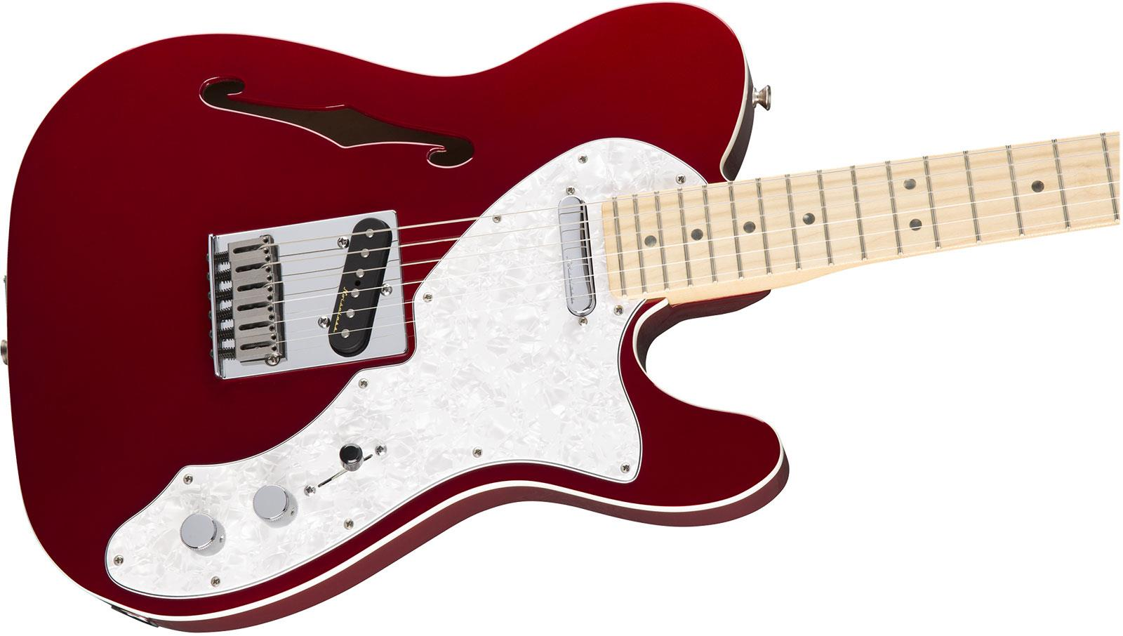 fender deluxe telecaster thinline mn candy apple red keymusic. Black Bedroom Furniture Sets. Home Design Ideas