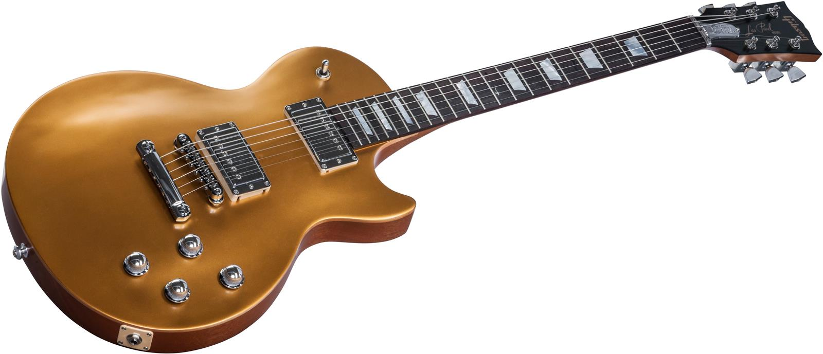 gibson 2017 les paul tribute hp satin gold top keymusic. Black Bedroom Furniture Sets. Home Design Ideas