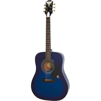Epiphone PRO-1 Plus Acoustic Trans Blue westerngitaar
