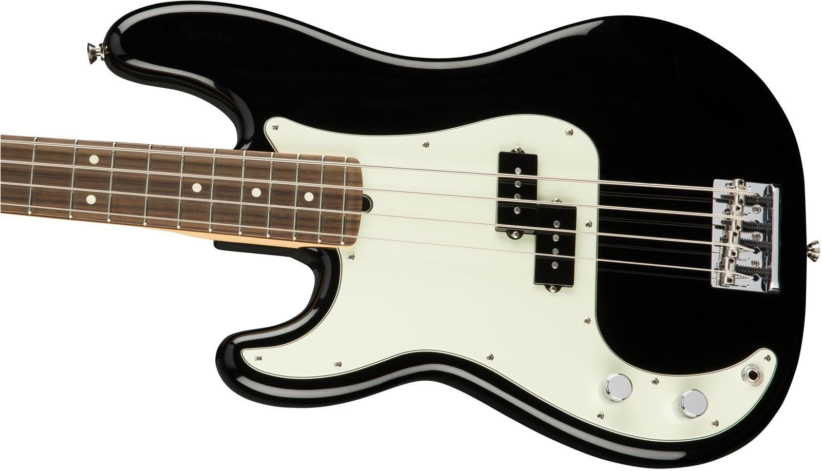 fender american professional precision bass rw black left handed keymusic. Black Bedroom Furniture Sets. Home Design Ideas