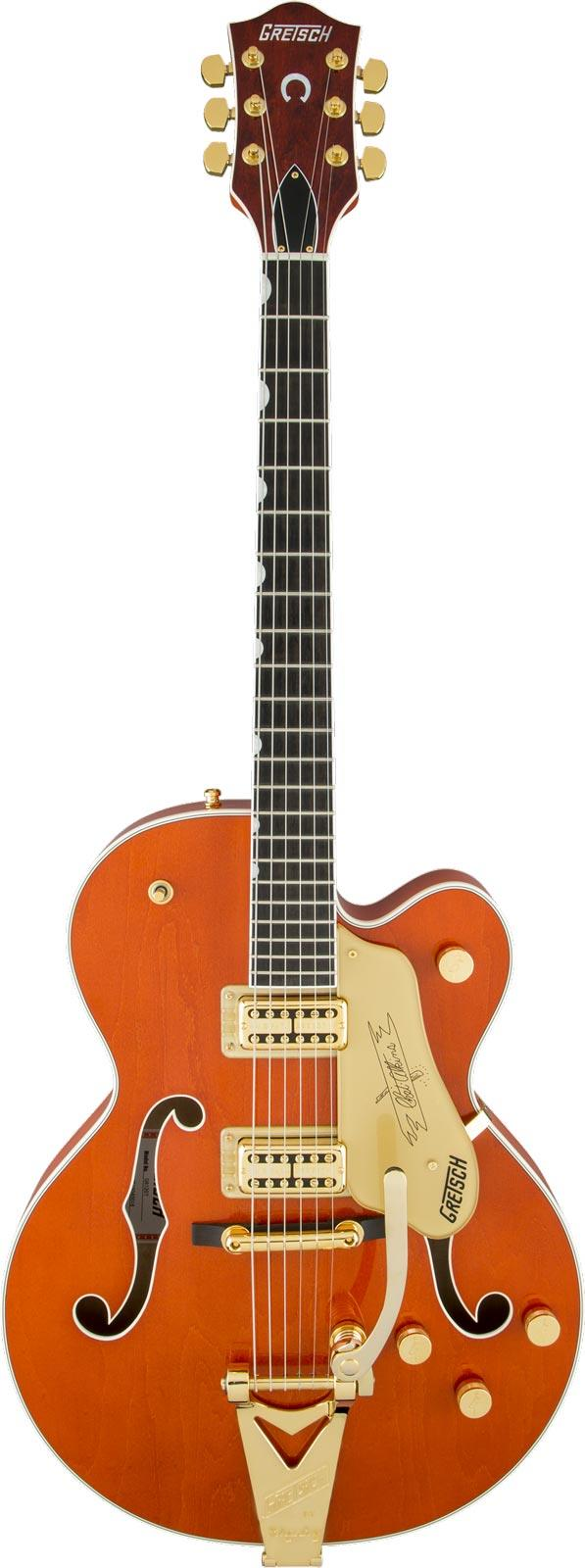 gretsch g6120t players edition nashville bigsby orange stain keymusic. Black Bedroom Furniture Sets. Home Design Ideas