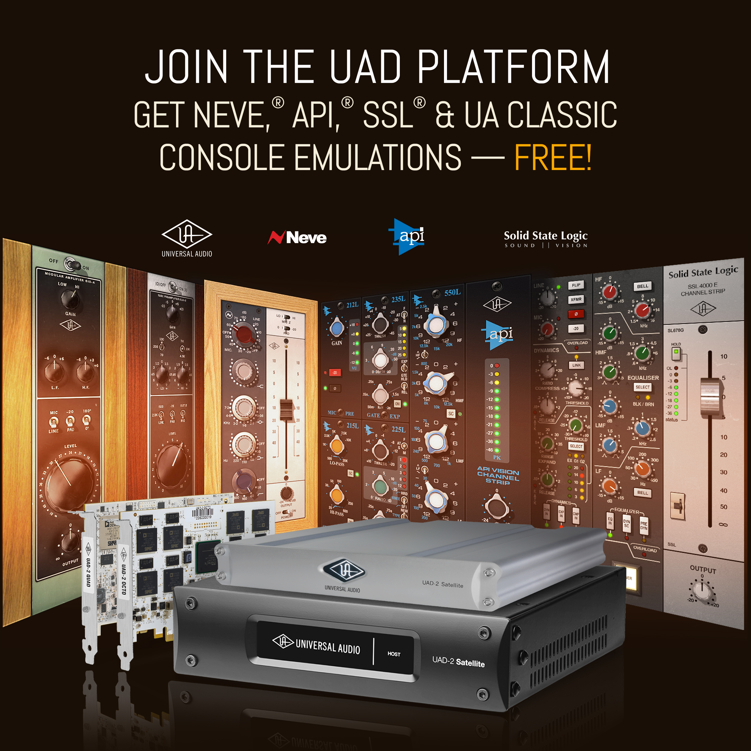 Universal Audio UAD-2 Satellite USB Quad Custom