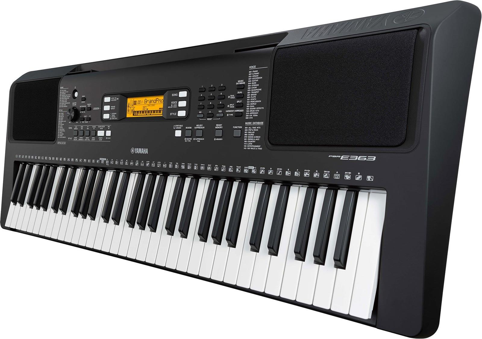 Yamaha psr e363 keymusic for Yamaha psr ew