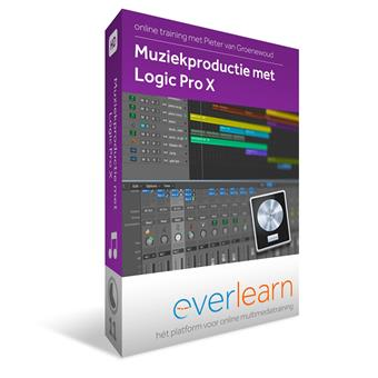 Everlearn Music Production with Logic Pro X 10.3 Download teaching method for studio/recording