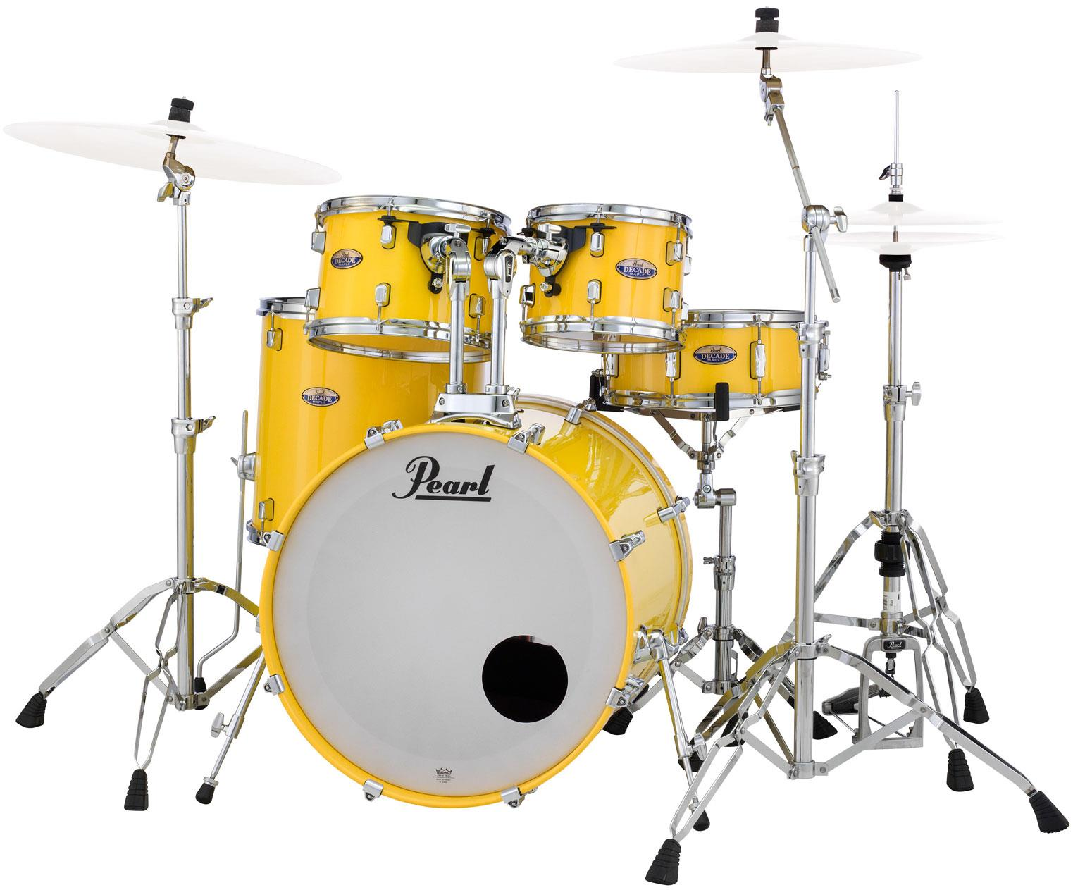 Pearl Dmp925s C228 Decade Maple Solid Yellow Keymusic