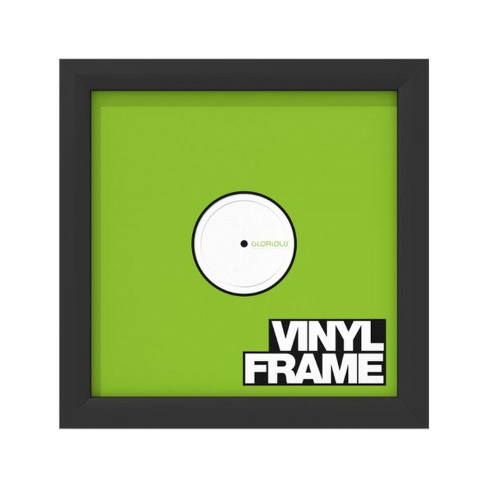 Glorious DJ Vinyl Frame Set Black (Set of 3) | Keymusic