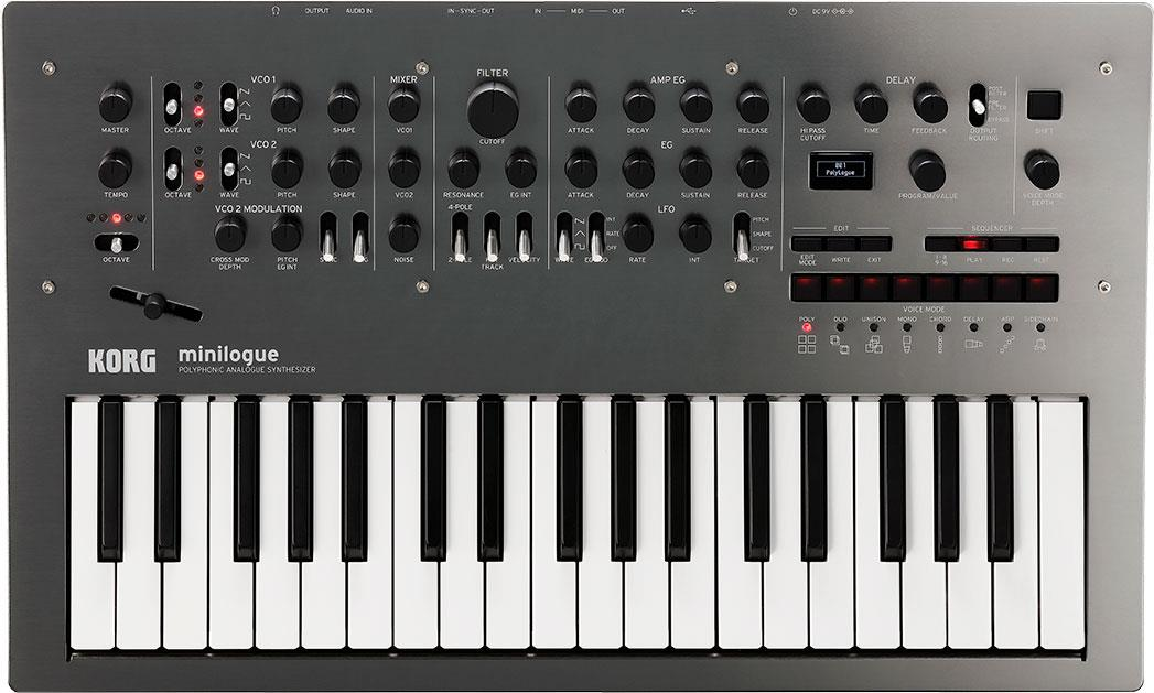 Korg Minilogue Polished Grey Limited Edition