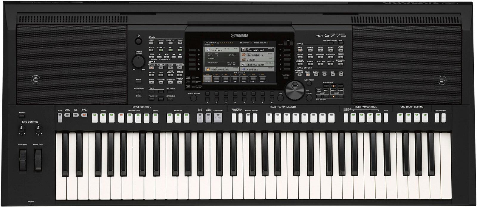 yamaha psr s775 keymusic. Black Bedroom Furniture Sets. Home Design Ideas