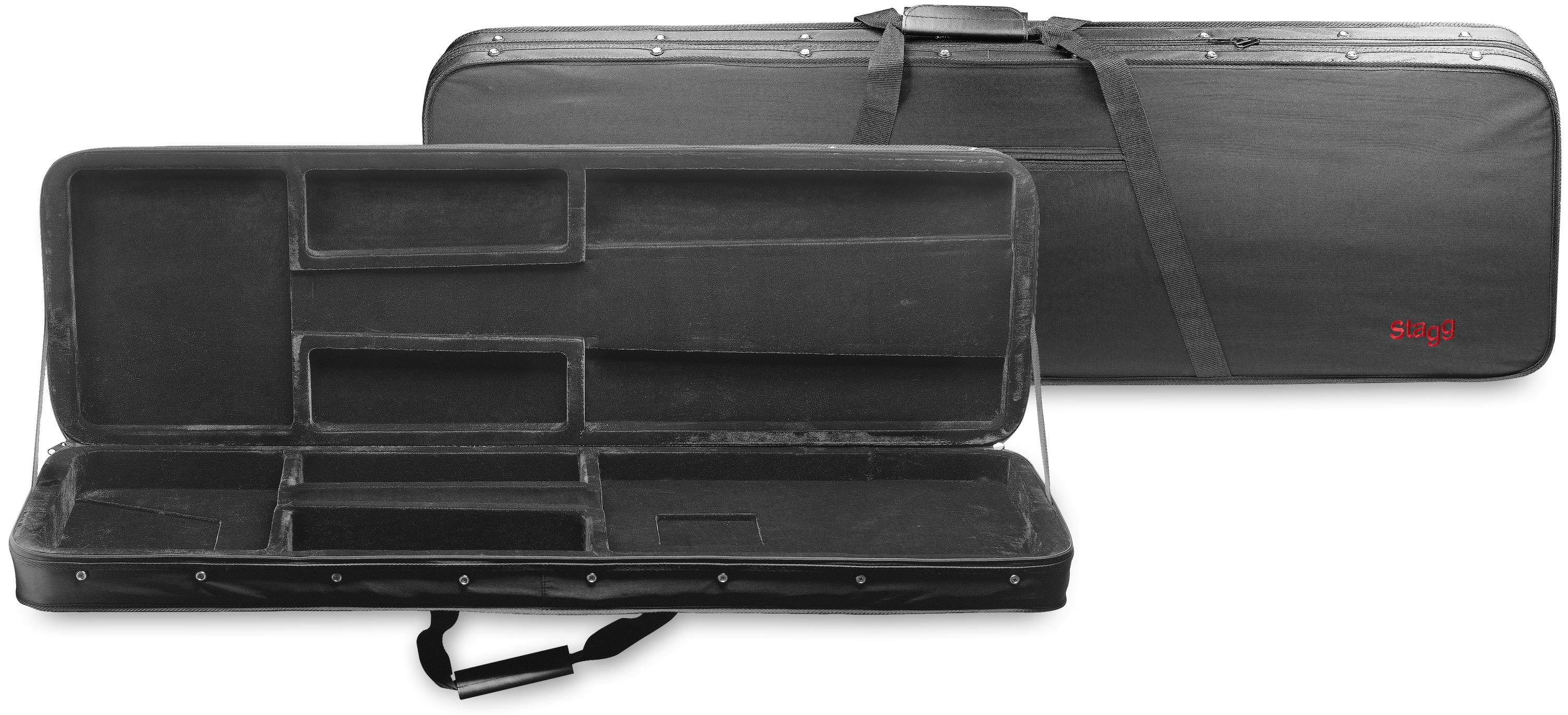 stagg hgb2 rb electric bass soft case keymusic. Black Bedroom Furniture Sets. Home Design Ideas
