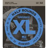 D'Addario EHR350 Half Rounds Jazz Light