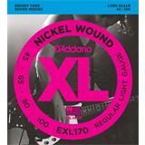 D'Addario EXL170 Regular Light 45-100