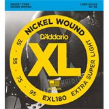 D'Addario EXL180 Extra-Super Light 35-95