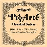 D'Addario J4501 Pro Arte Classical Guitar High E String 028