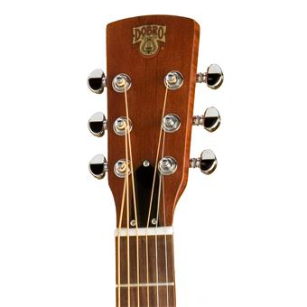 Epiphone Dobro Hound Dog Round Neck Trans Brown Satin resonatorgitaar