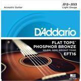 D'Addario EFT16 Flat Tops Light 12-53