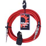 DiMarzio EP1700 Instrument Cable Red 550cm