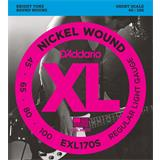D'Addario EXL170S Regular Light 45-100 Short Scale