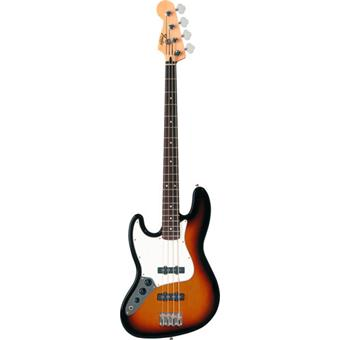 Fender Standard Jazz Bass Brown Sunburst Rosewood Left left handed bass guitar