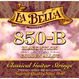 Labella 850B Elite Black Nylon Golden Alloy