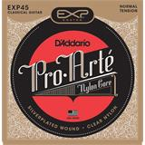 D'Addario EXP45 Coated Classical Guitar Normal Tension