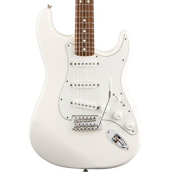 Fender Standard Stratocaster Arctic White Rosewood electric guitars