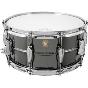 Ludwig LB417 Black Beauty brass snare drum