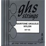 GHS 100 Set Baritone Ukulele Strings