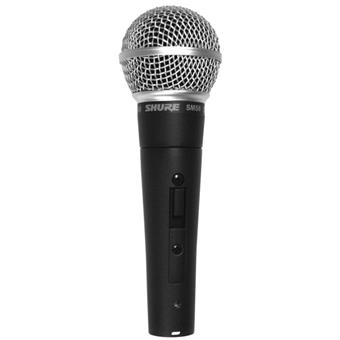 Shure SM58S dynamic microphone for vocalists