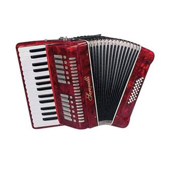 Serenelli Y-3232 Accordeon Red harmonica