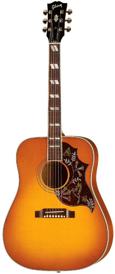 gibson hummingbird heritage cherry sunburst keymusic. Black Bedroom Furniture Sets. Home Design Ideas