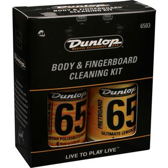 Dunlop 6503 Body And Fingerboard Cleaning Kit reiniging/onderhoud gitaar