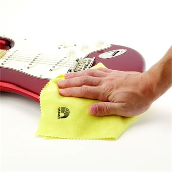 D'Addario Untreated Polish Cloth guitar cleaning/maintenance