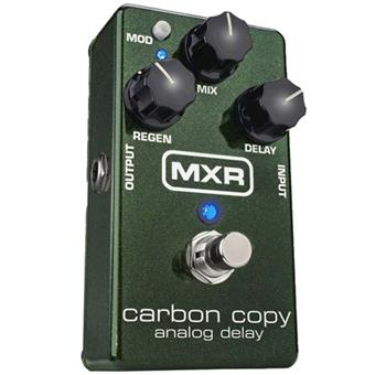 MXR M169 Carbon Copy Analog Delay pédale delay/echo/looper