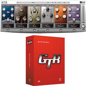 Waves GTR (Guitar Tool Rack)  audio-/effectplugin