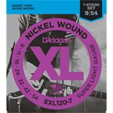 D'Addario EXL120-7 Super Light 7-String