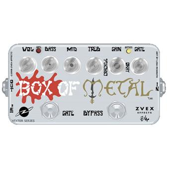 Z Vex Box Of Metal Vexter Series metal distortion pedaal