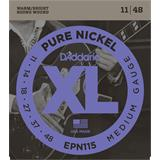D'Addario EPN115 Pure Nickel Blues Jazz Rock