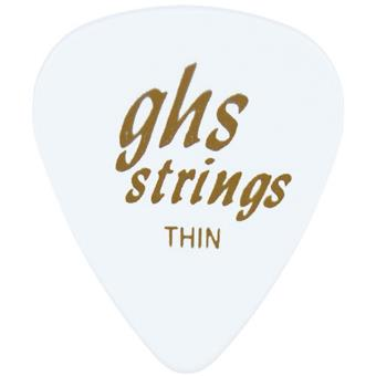 GHS A53 Pick Thin White standaard plectrum