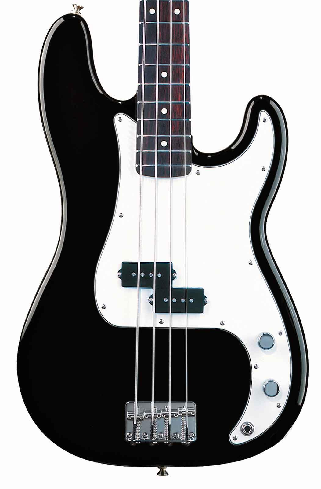 fender standard precision bass black rosewood keymusic. Black Bedroom Furniture Sets. Home Design Ideas
