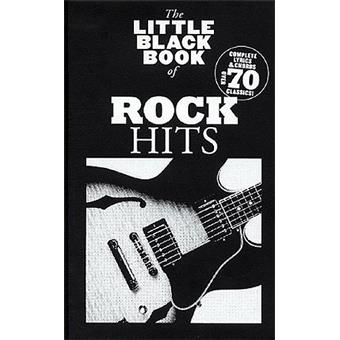 Hal Leonard The Little Black Book Of Rock Hits songbook
