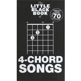 Hal Leonard The Little Black Book Of 4 Chord Songs
