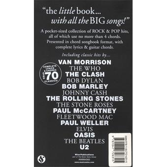 Hal Leonard The Little Black Book Of 4 Chord Songs song book