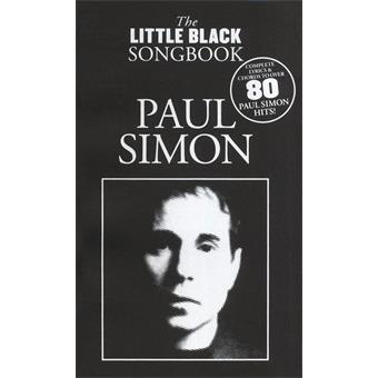Hal Leonard The Little Black Songbook Paul Simon guitar/bass song book